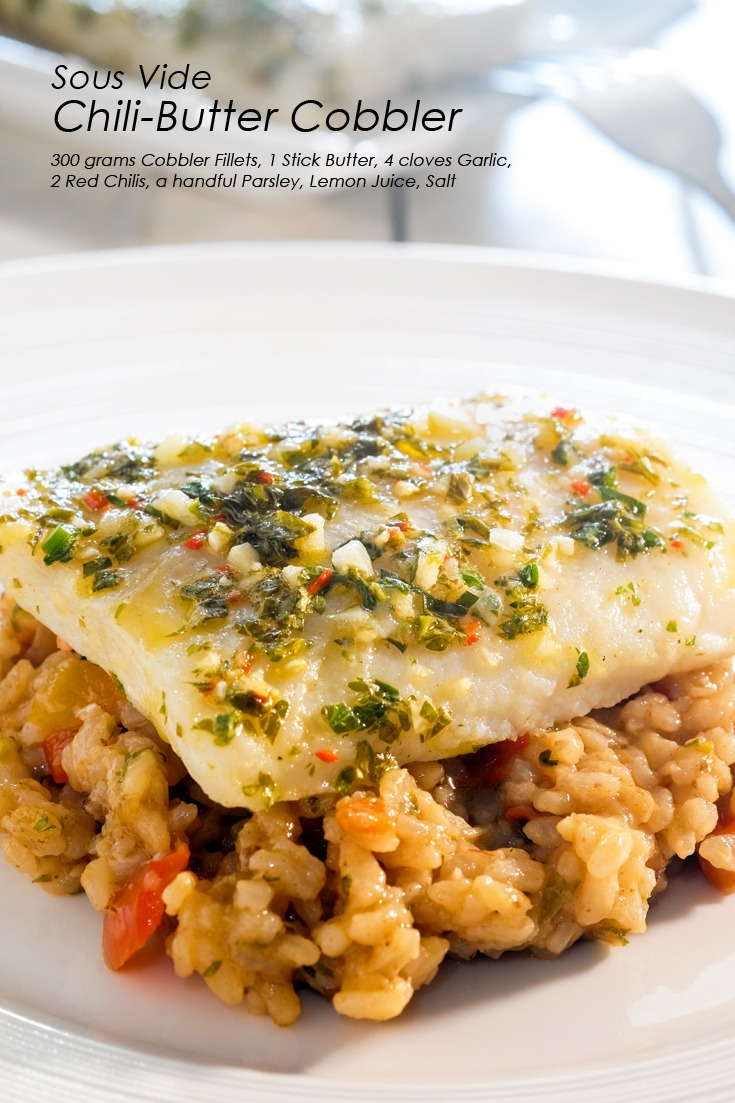 Sous Vide Chili-Butter Cobbler Full Recipe on FoodForNet.com