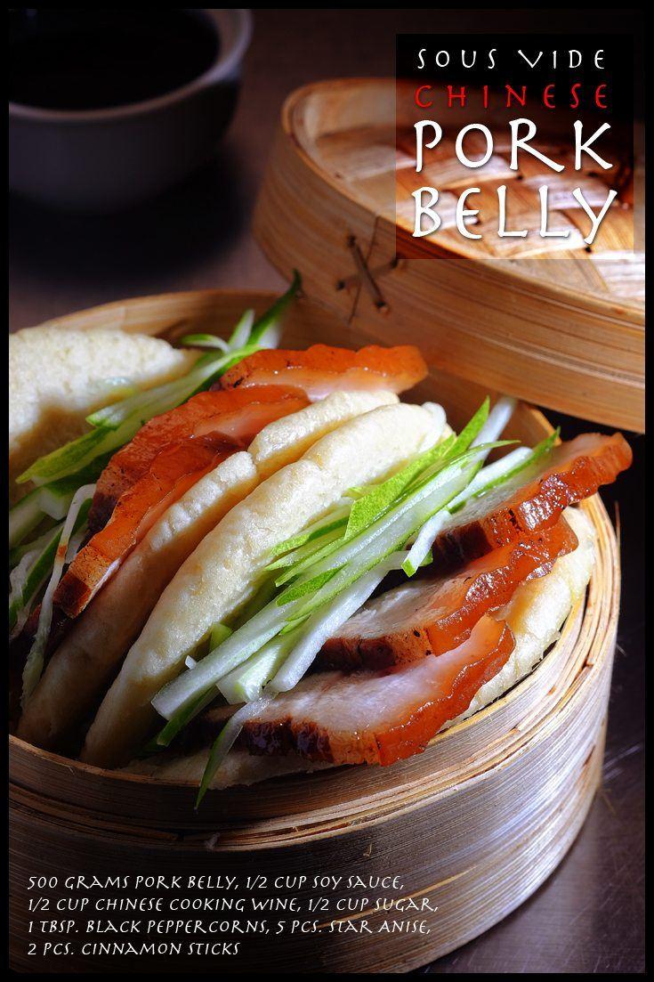 Sous Vide Chinese Pork Belly Full Recipe on FoodFornet.com