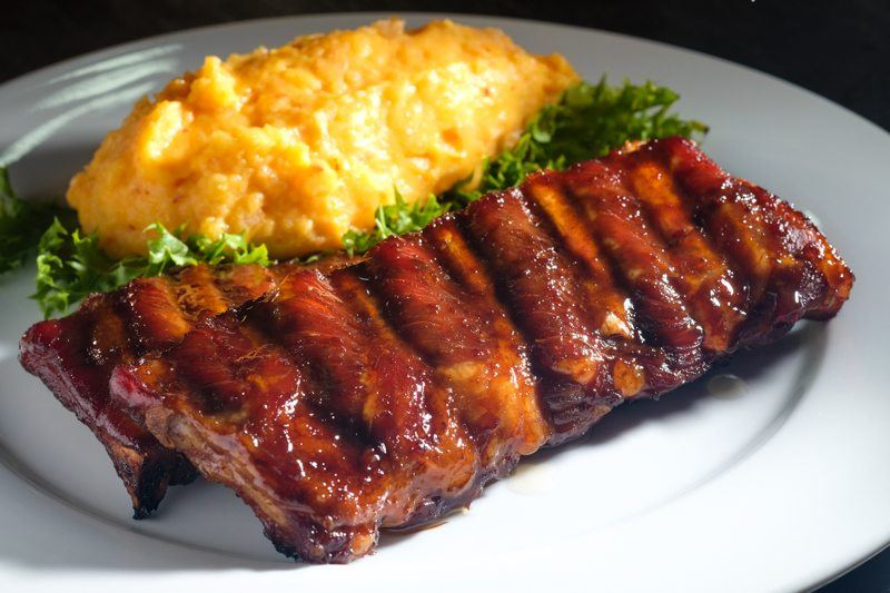 Sous Vide Kalbi Baby Backs With Kimchi Mashed Potatoes Food For Net