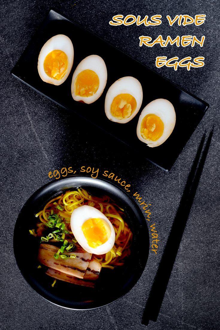 Sous Vide Ramen Eggs Full Recipe on FoodForNet.com