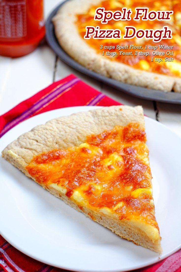 Spelt Flour Pizza Dough Full Recipe on FoodForNet.com