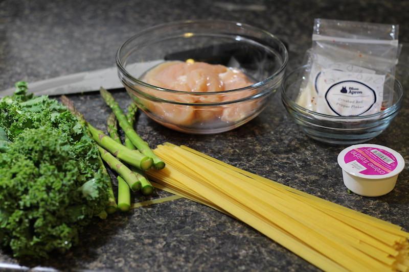 Spring Chicken Blue Apron Ingredients