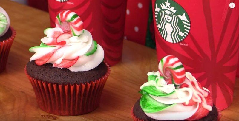 Starbucks Peppermint Mocha Cupcakes thumbnail