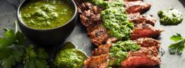 Steak-with-Chimichurri-Sauce-and-Spices