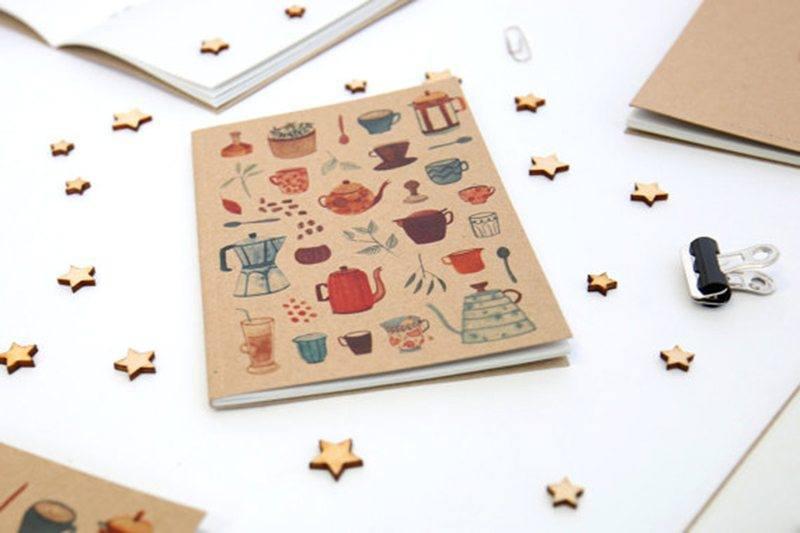 Tea & Coffee Notebook