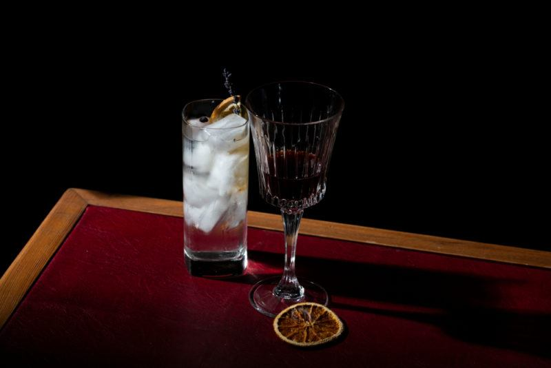 Vermouth and gin