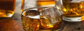 Whiskey-Bourbon-in-a-Glass-with-Ice