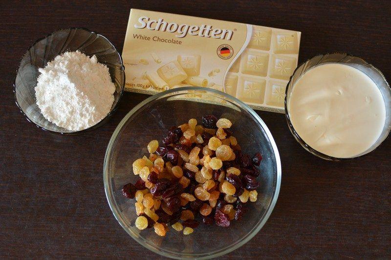 White chocolate bites ingredients