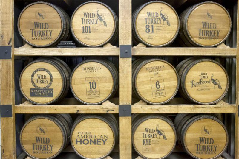 Wild Turkey 101 Whiskey Barrels