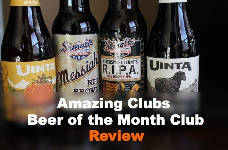 AmazingClubs Beer Of The Month Club Review
