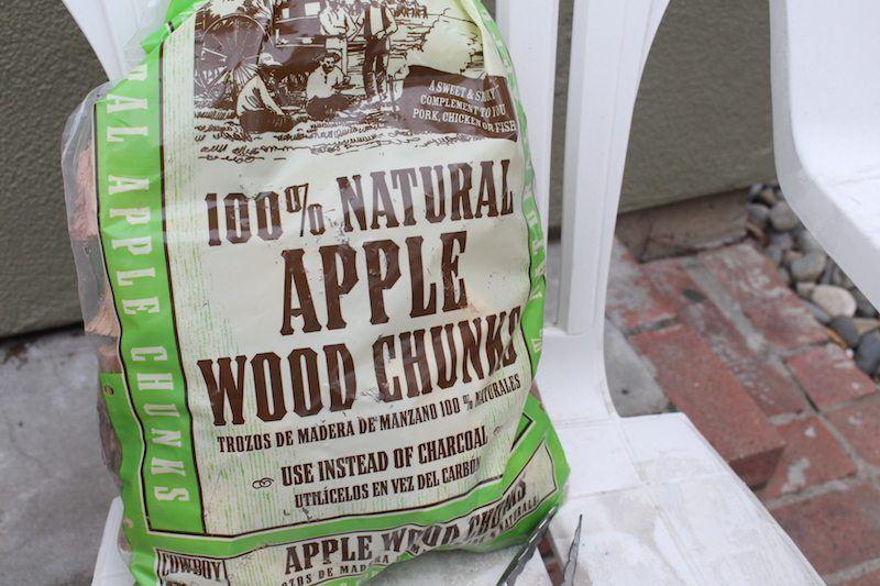 5 pound bag of apple wood chunks