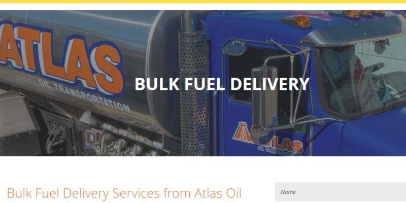 atlas oil fuel delivery page