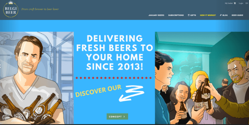 belgibeer belgian beer club