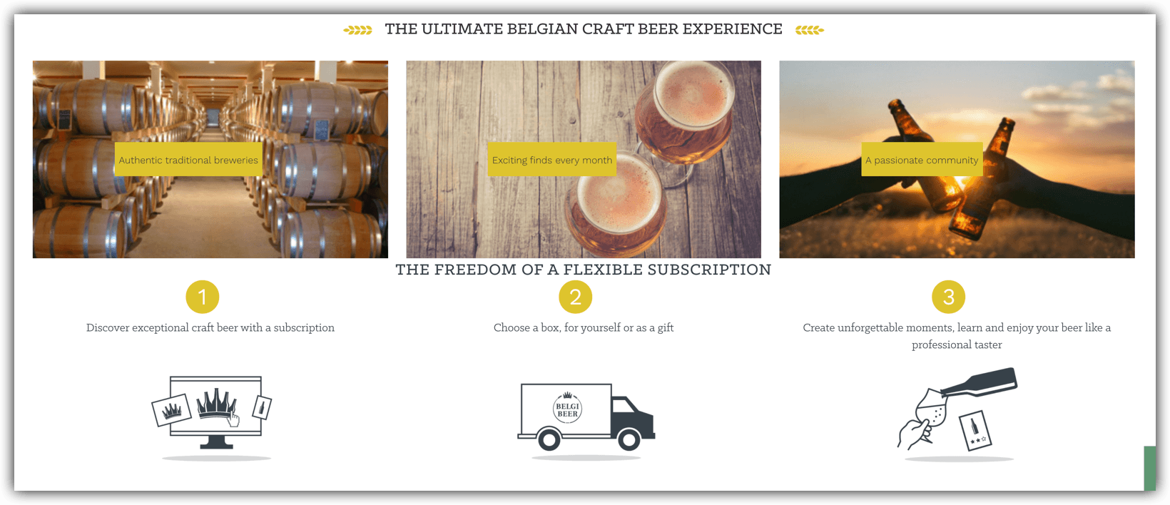 belgibeer.com belgian beer club