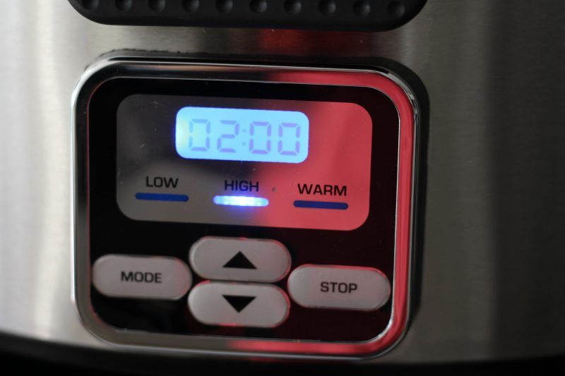 bella-slow-cooker-programing-2-hours
