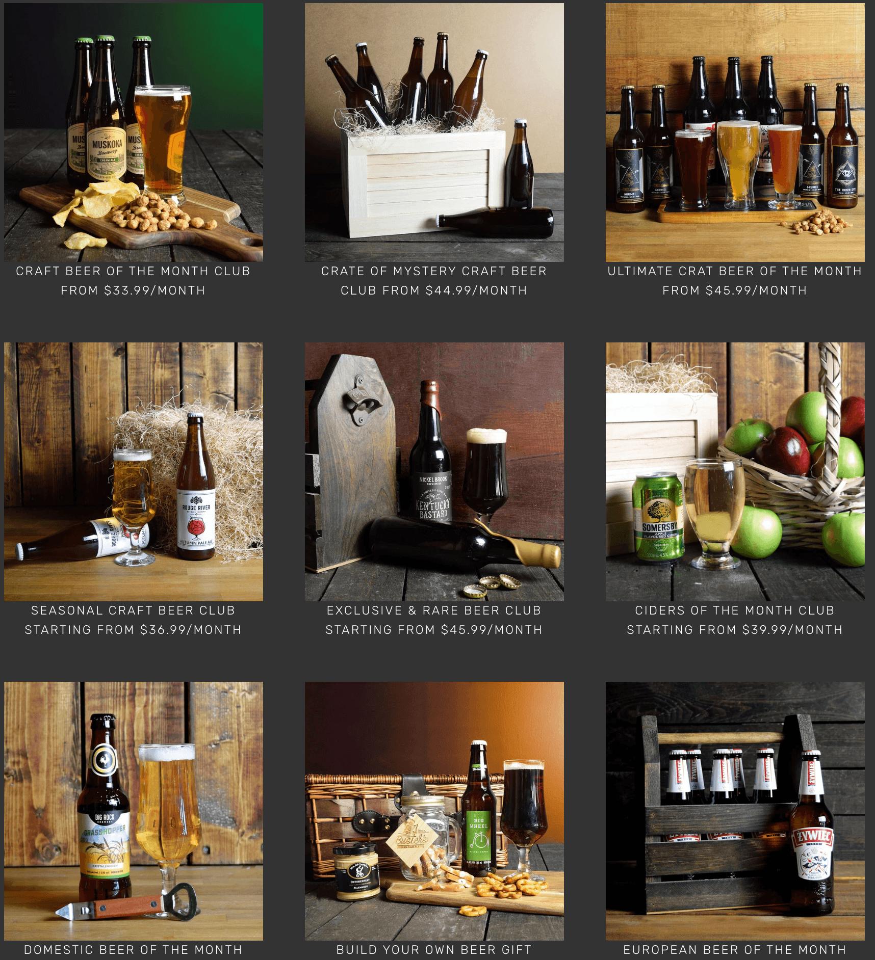 brocrates beer clubs variety