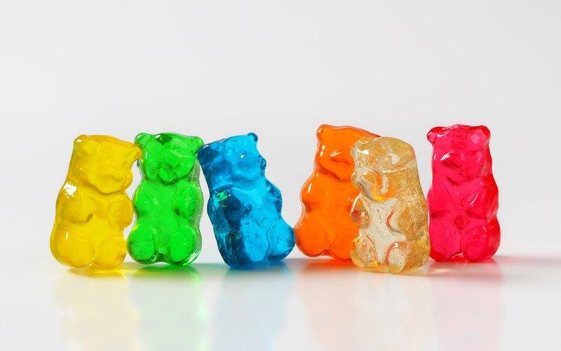 caffeine gummy bears