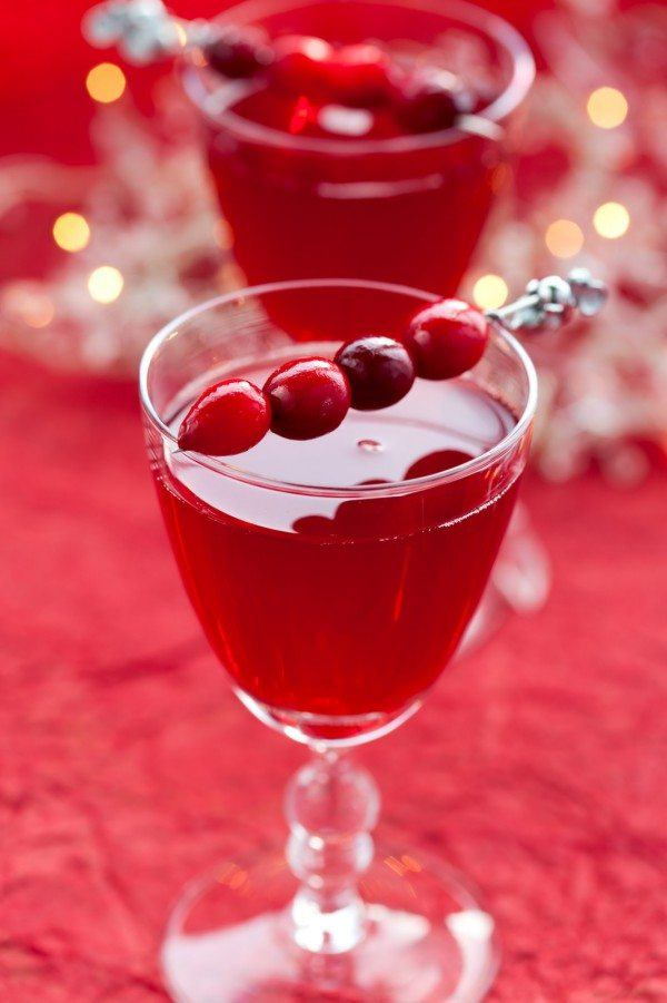 Cranberry Spice Martini