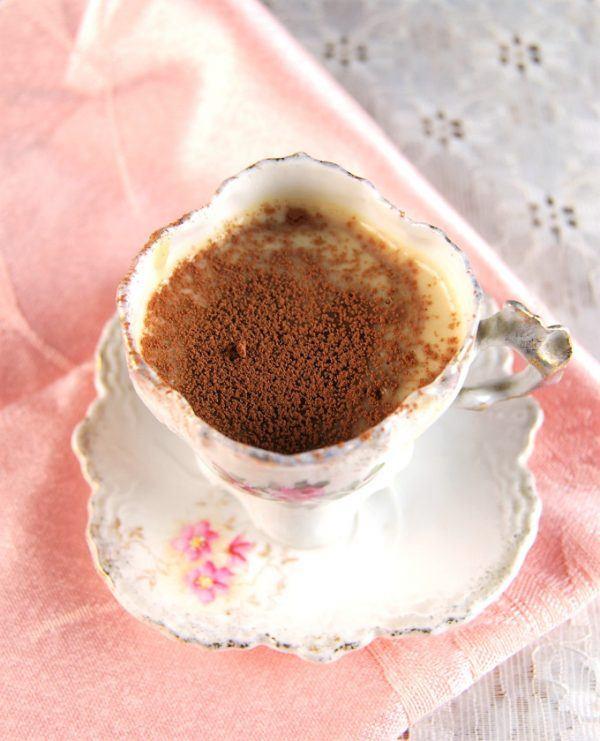 Chocolate Vanilla Pots de Creme
