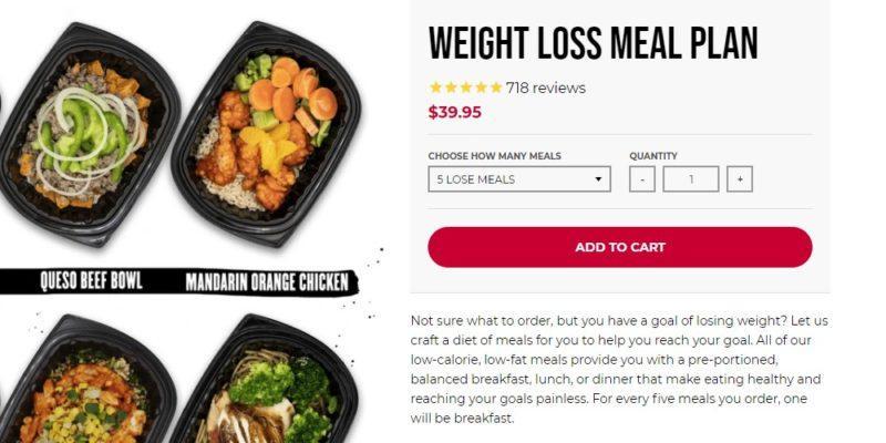 clean eatz kitchen weight loss plan page