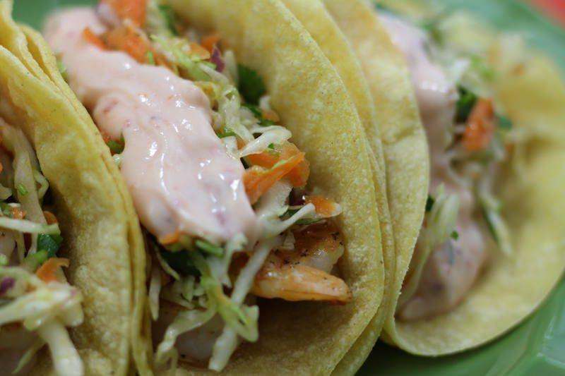 crispy shrimp sweet chili tacos final 2