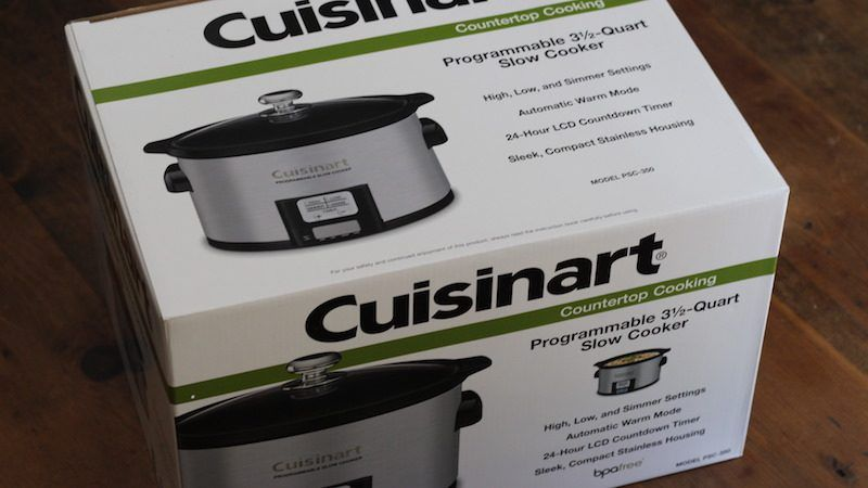 cuisinart 3.5 quart silver box 2