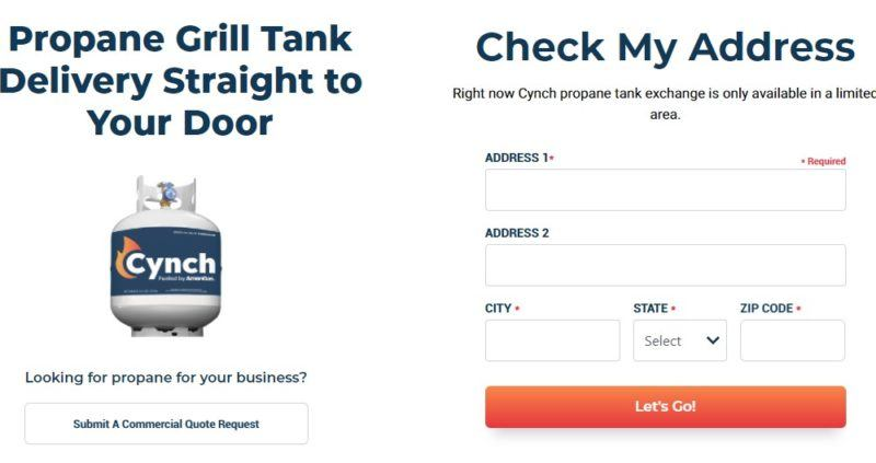 cynch home page