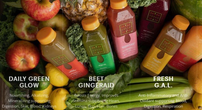 drink fresh juice home page