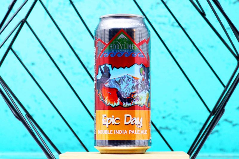 epic day double IPA from eddyline brewery