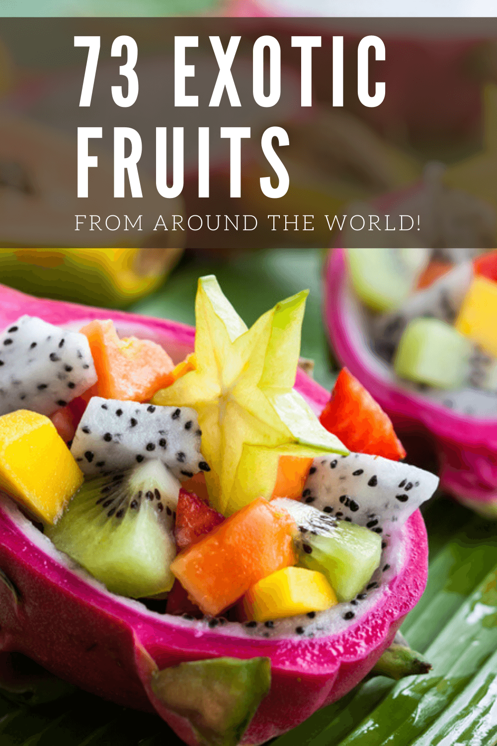 73 Exotic Fruits From Around The World With Pictures Food For Net