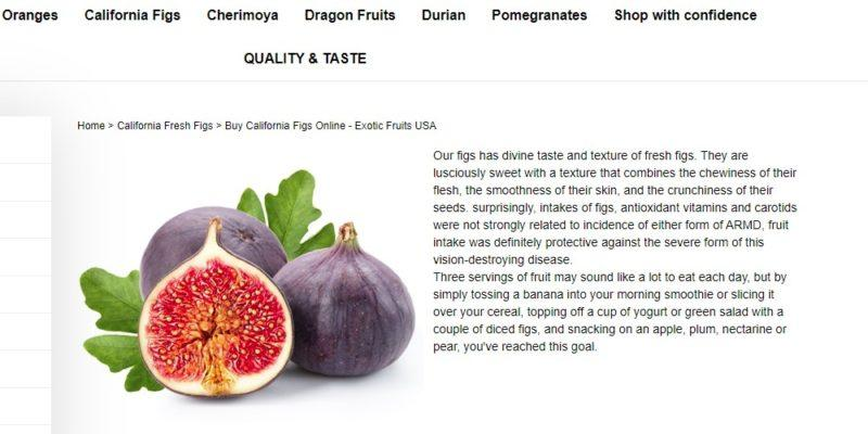 exotic fruits usa home page