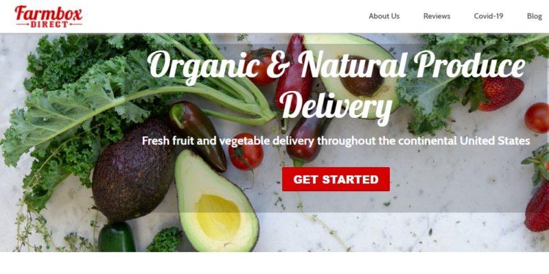 farmbox direct home page