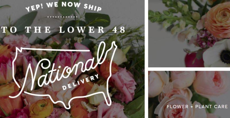 farmgirl flowers home page