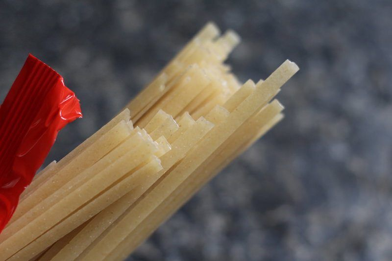 flat pad thai noodles fettuccini