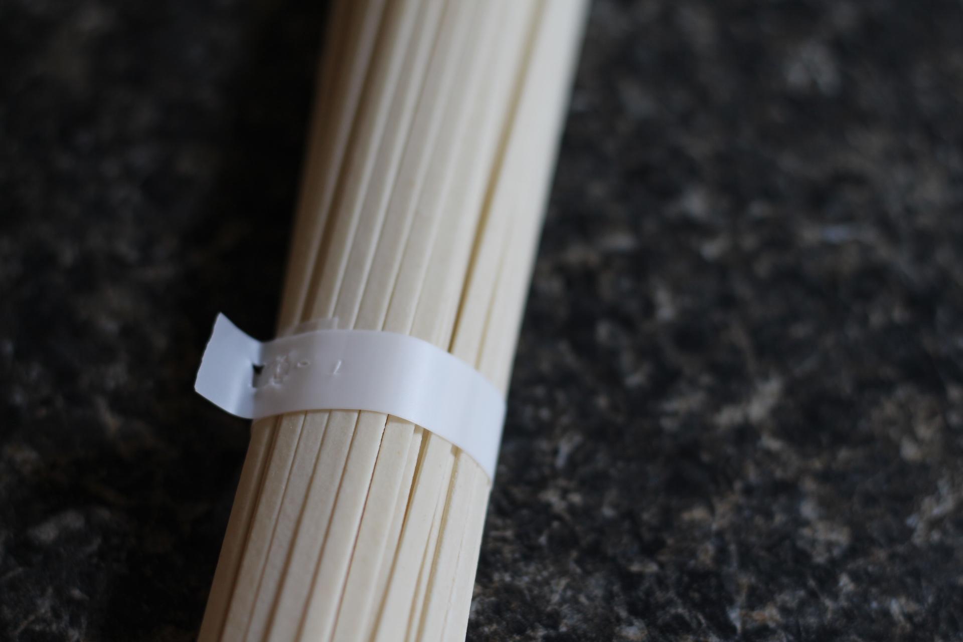 flat udon noodles