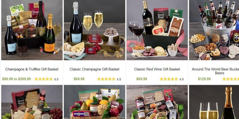 gourmet gift baskets gift basket page