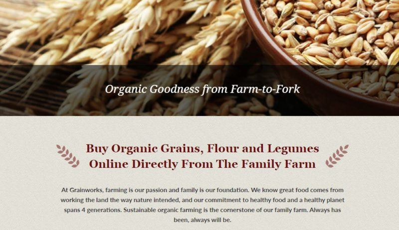 grain works home page
