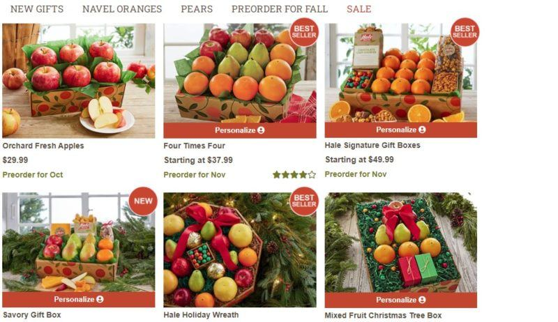 hale groves apple category page
