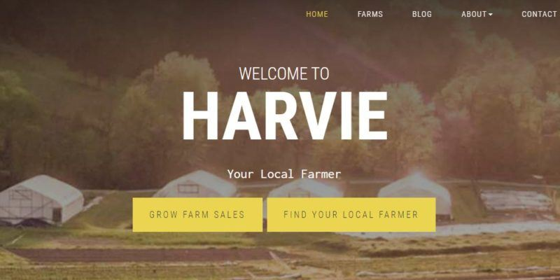harvie home page