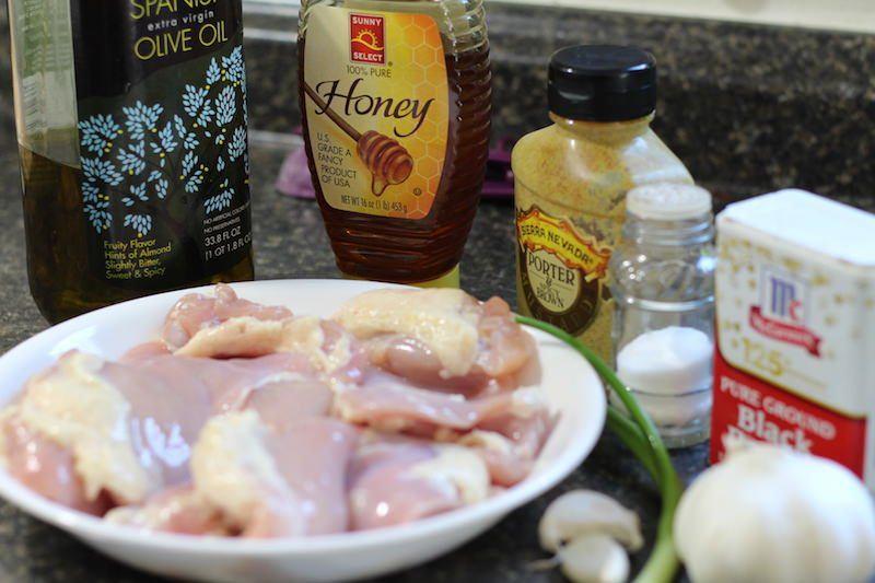 honey dijon garlic chicken ingredients