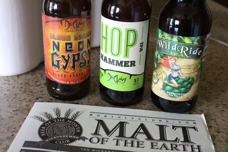 hopheads IPA of the month club malt of the earth