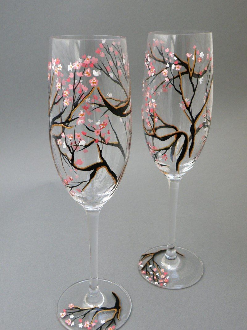 Beautiful Hand Painted Glasses