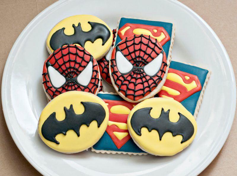 More Superhero Logos