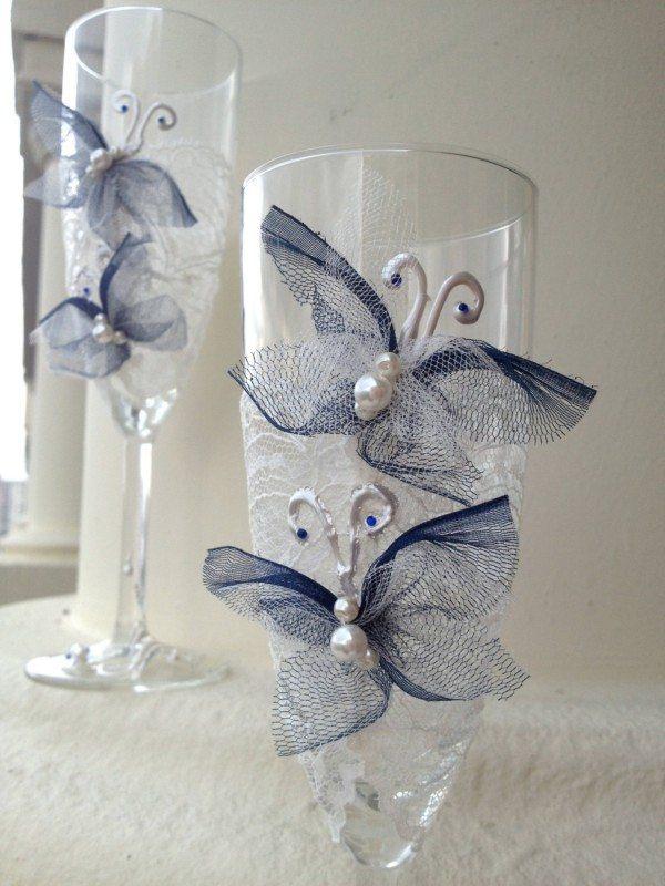 Lace Wedding Butterflies