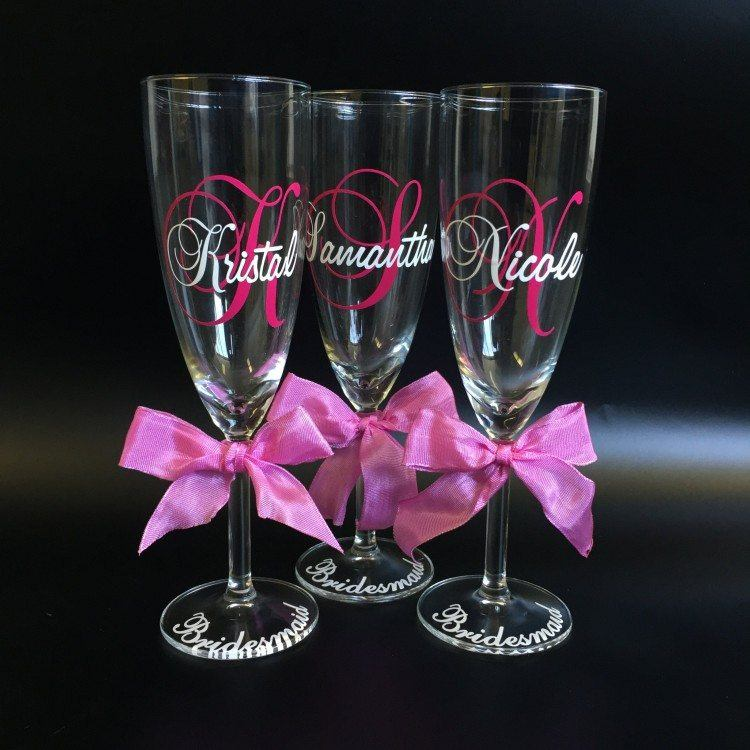 Glasses for Bridesmaids