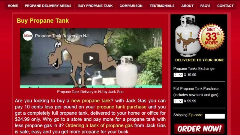jack gas propane delivery page