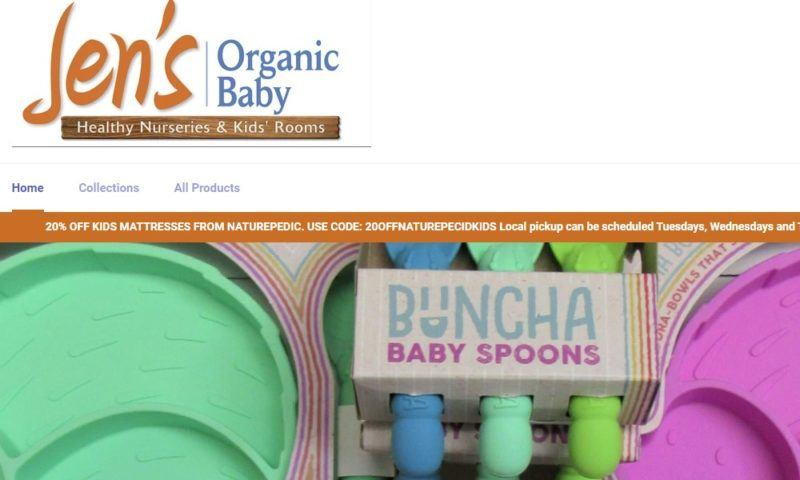 jen's organic baby home page