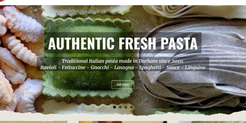 melina's pasta home page