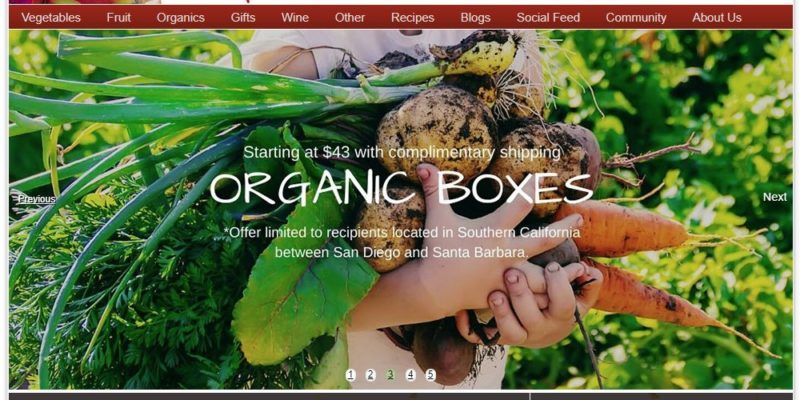 melissa's produce home page