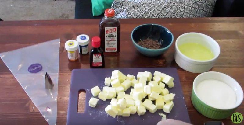 mint chocolate meringue cupcakes ingredients